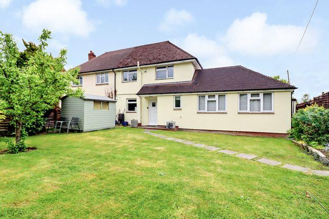 Thumbnail Semi-detached house for sale in Burnetts Fields, Horton Heath, Eastleigh