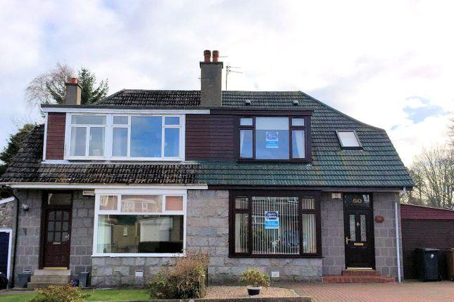 Thumbnail Semi-detached house to rent in 50 Craigiebuckler Terrace, Aberdeen