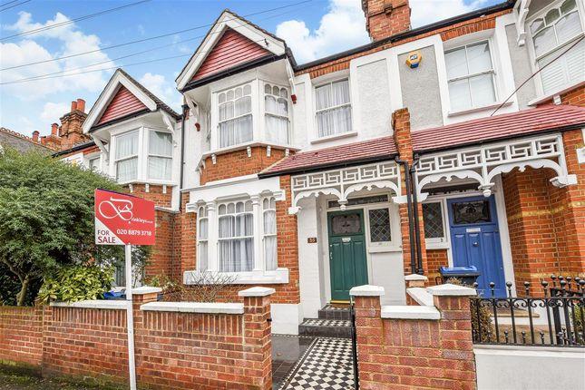 Thumbnail Terraced house for sale in Durnsford Avenue, London