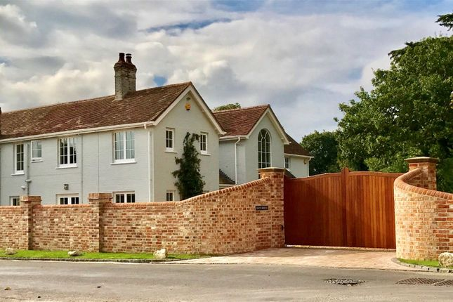 Thumbnail Detached house for sale in Lower Pennington Lane, Pennington, Lymington, Hampshire