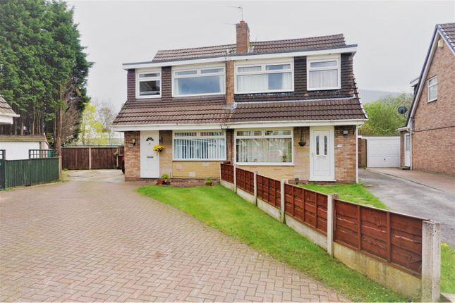 Thumbnail Semi-detached house for sale in Tottenham Drive, Manchester