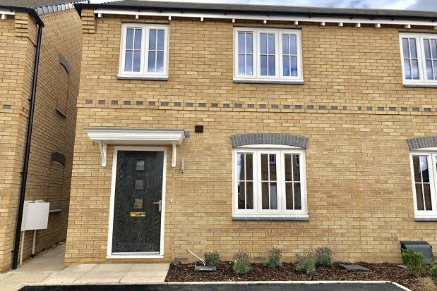 Thumbnail Town house to rent in Meridian Close, Nottingham