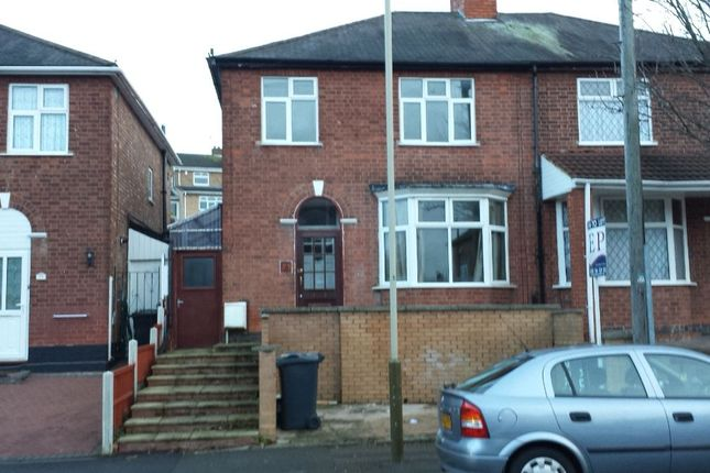 Thumbnail Semi-detached house to rent in Mayflower Road, Evington, Leicester