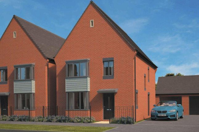 Thumbnail Detached house for sale in Eastfield, Lawley Village, Telford