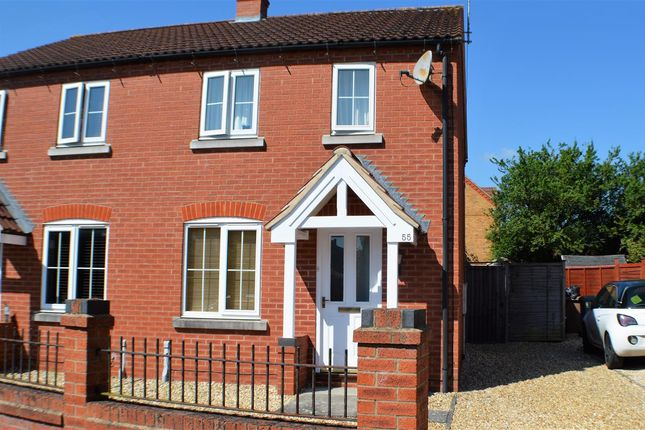 Thumbnail Semi-detached house to rent in Falcon Way, Sleaford