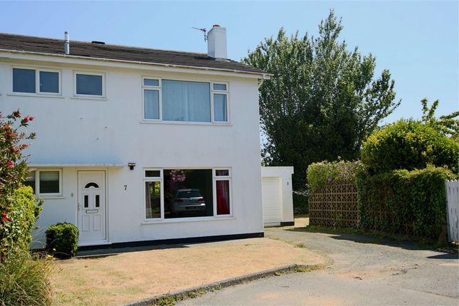 Thumbnail Semi-detached house to rent in Clos Du Petit Bois, Rue Cauchez, St. Martin, Guernsey