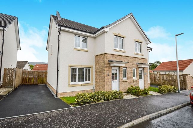 Thumbnail Semi-detached house to rent in Scholars Road, Alloa