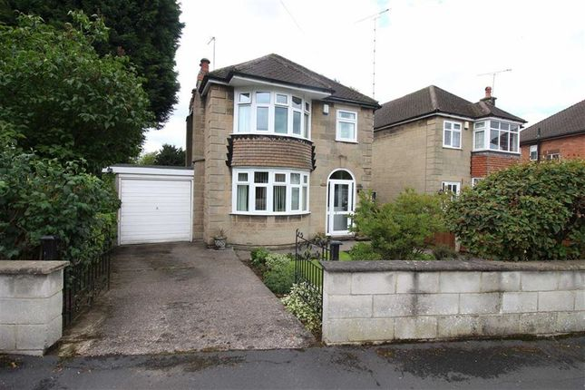 Thumbnail Detached house for sale in Fairway Crescent, Allestree, Derby