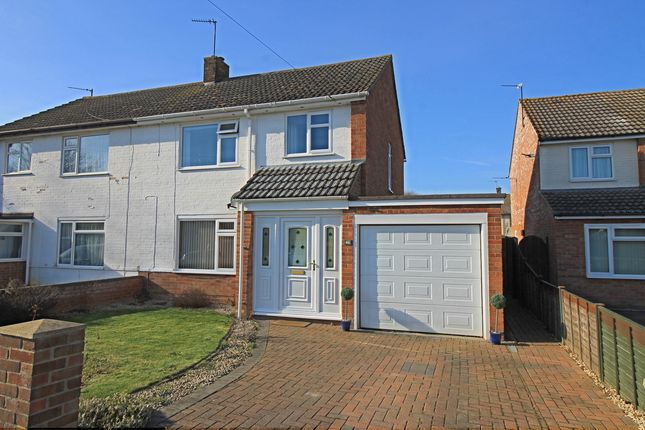 Thumbnail Semi-detached house for sale in Tudor Road, Godmanchester