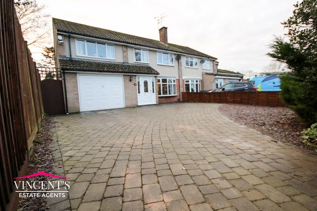Thumbnail Semi-detached house for sale in Beechwood Avenue, Leicester Forest East