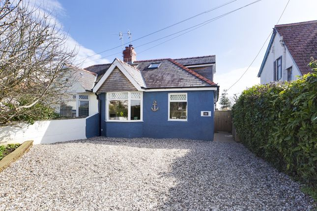 Thumbnail Semi-detached bungalow for sale in Pyle Road, Bishopston, Swansea