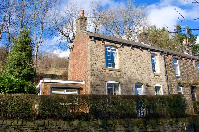 Thumbnail End terrace house for sale in Oldham Road, Uppermill, Oldham