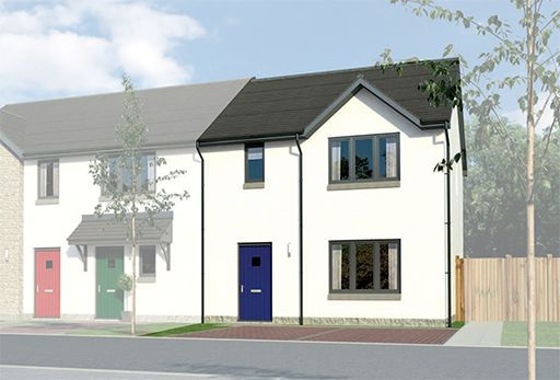 "Thumbnail Terraced house for sale in ""Caplewood End"" at Old Lang Stracht, Kingswells, Aberdeen"