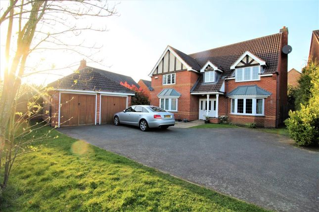 Thumbnail Detached house to rent in Brudenell Close, Cawston, Rugby