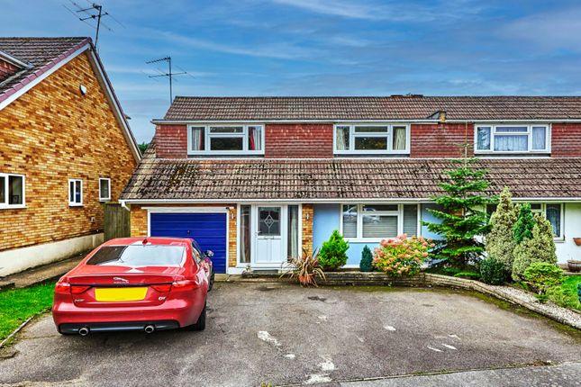 Thumbnail Semi-detached house for sale in Newlyn Close, Bricket Wood, St. Albans