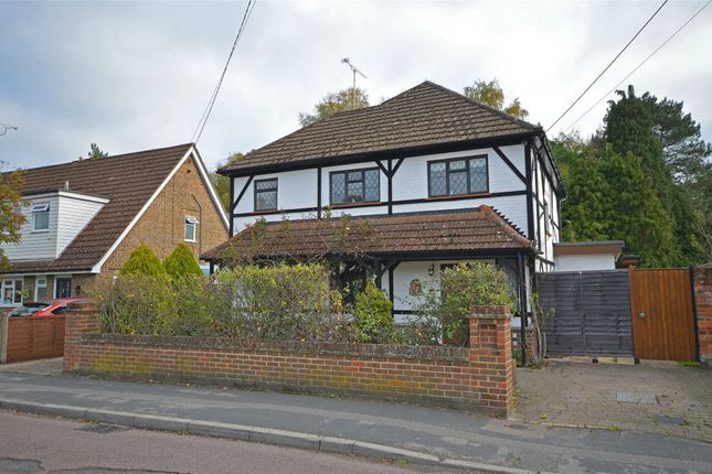 Thumbnail Detached house for sale in Salisbury Grove, Mytchett, Camberley, Surrey