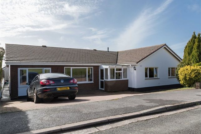 Thumbnail Detached bungalow for sale in Arthur Morris Drive, Pembroke Dock, Pembrokeshire