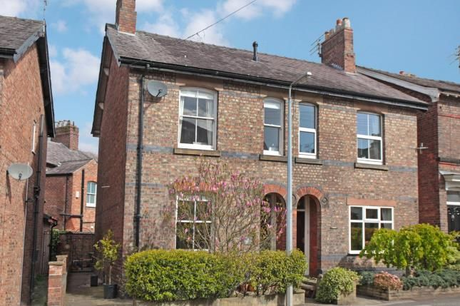 Thumbnail Semi-detached house for sale in Chorley Hall Lane, Alderley Edge, Cheshire