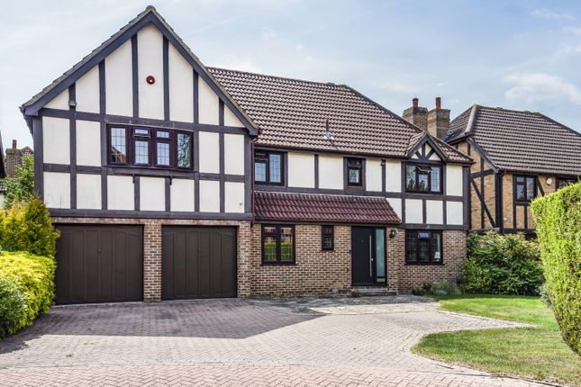 Thumbnail Detached house for sale in Chatsworth Close, West Wickham