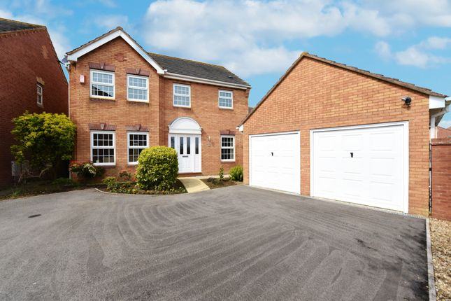 Thumbnail Detached house for sale in Forde Park, Yeovil