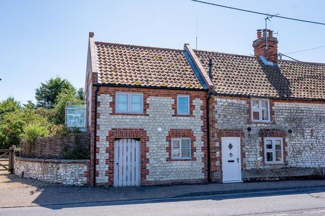 Thumbnail End terrace house for sale in High Street, Thornham, Hunstanton
