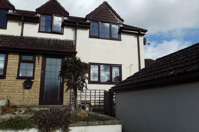 Thumbnail End terrace house to rent in Henley Close, Chardstock, Axminster