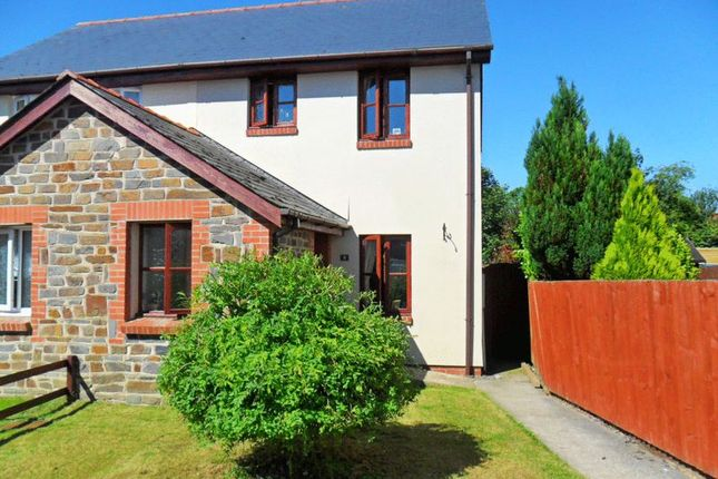 3 bed semi-detached house for sale in Dungleddy Court, Clarbeston Road, Pembrokeshire