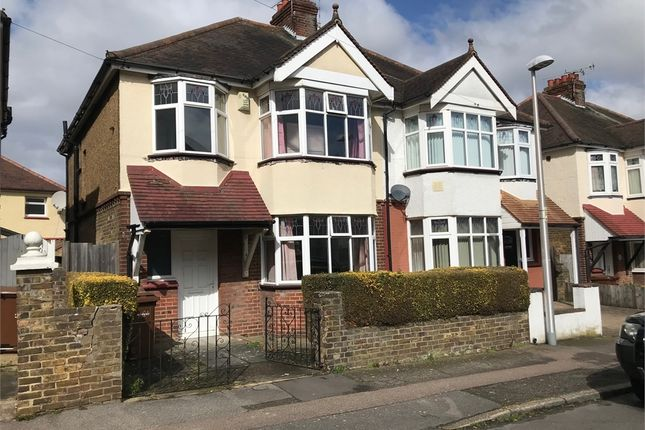 Thumbnail Semi-detached house for sale in First Avenue, Gillingham, Kent.