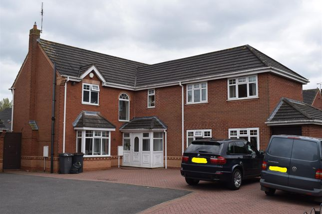 Thumbnail Detached house for sale in Sterling Way, Maple Park, Nuneaton