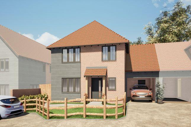 3 bed link-detached house for sale in Elvington Lane, Hawkinge, Folkestone CT18