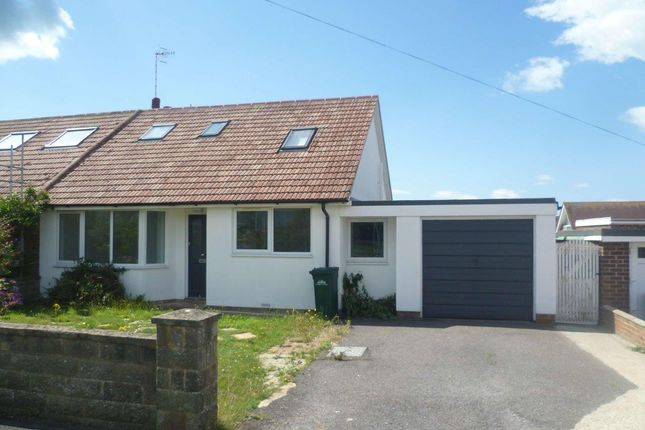 Thumbnail Detached bungalow to rent in Grassmere Avenue, Peacehaven