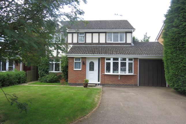 Thumbnail Detached house for sale in Blackberry Close, Kettering