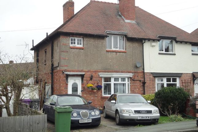 3 bed semi-detached house for sale in 62 Trysull Road, Wolverhampton, West Midlands WV3