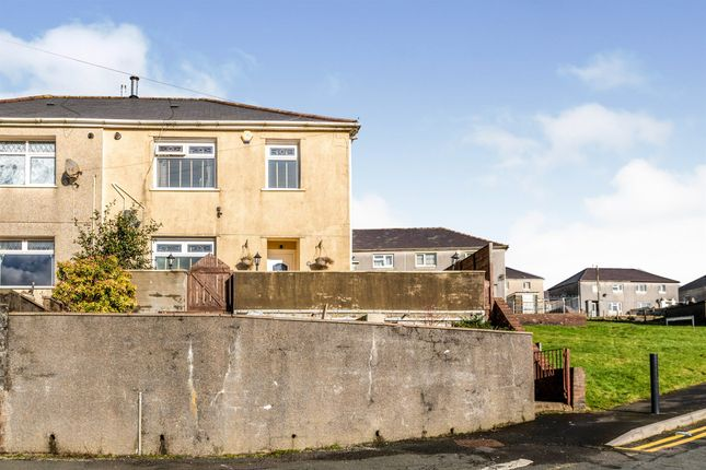 3 bed semi-detached house for sale in Hartshorn Terrace, Caerau, Maesteg CF34