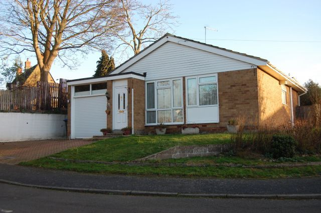 Thumbnail Detached bungalow for sale in The Orchard, Flore, Northampton