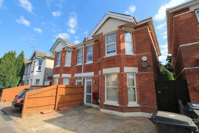 Thumbnail Flat to rent in Talbot Road, Winton, Bournemouth
