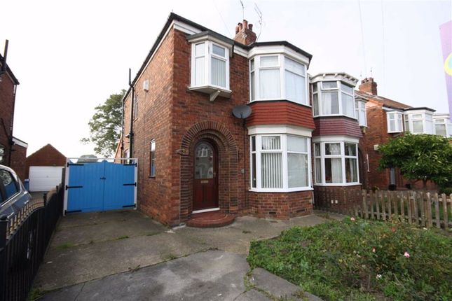 Thumbnail Semi-detached house to rent in Birklands Drive, Hull