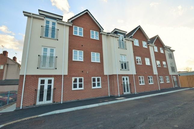 Thumbnail Flat to rent in Bellevue Court, Tenters Square, Wrexham