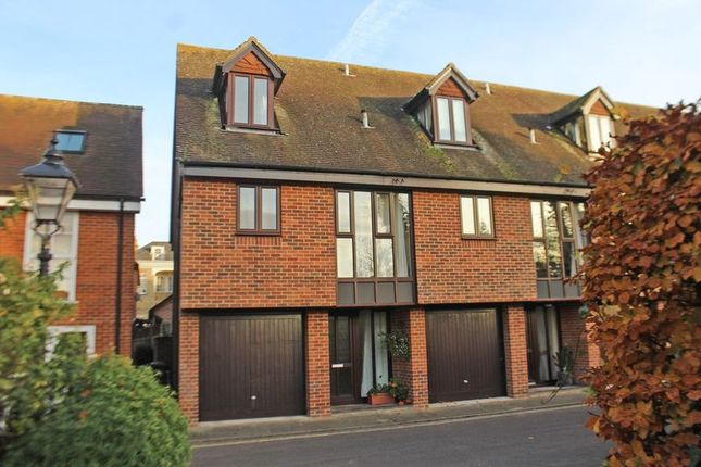 Thumbnail End terrace house for sale in Church Road, Romsey