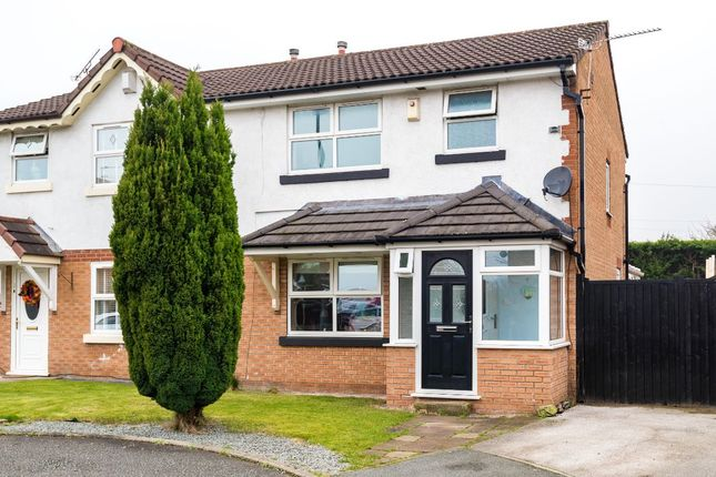 3 bed semi-detached house for sale in Squires Close, Haydock, St. Helens WA11