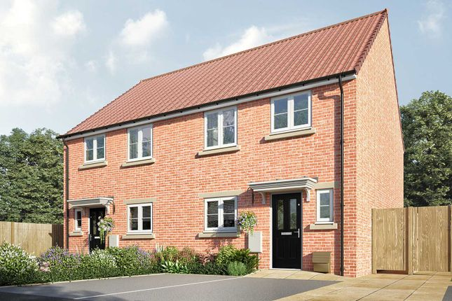 """3 bed semi-detached house for sale in """"The Eveleigh"""" at York Road, Knaresborough HG5"""