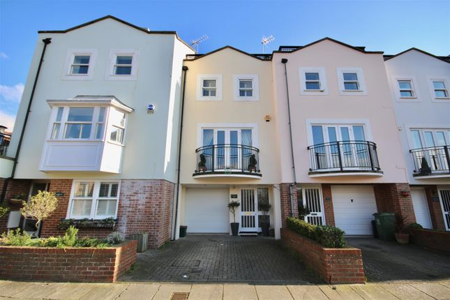 Thumbnail Town house for sale in White Hart Road, Old Portsmouth, Hampshire