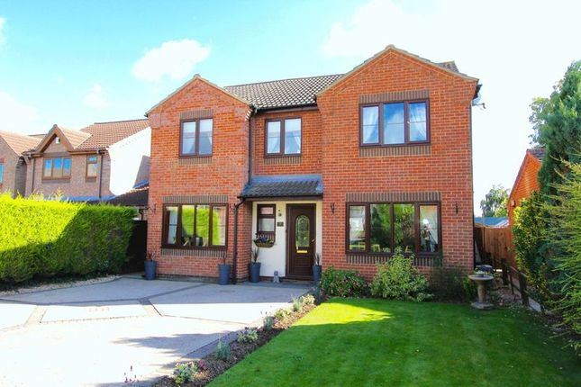 4 bed detached house for sale in Willow Close, Ulceby