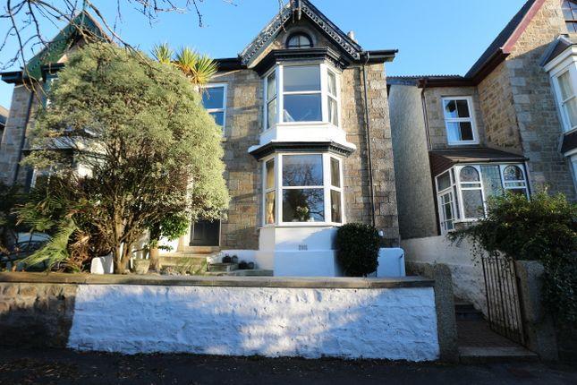 Thumbnail Semi-detached house for sale in Pendower Terrace, Camborne