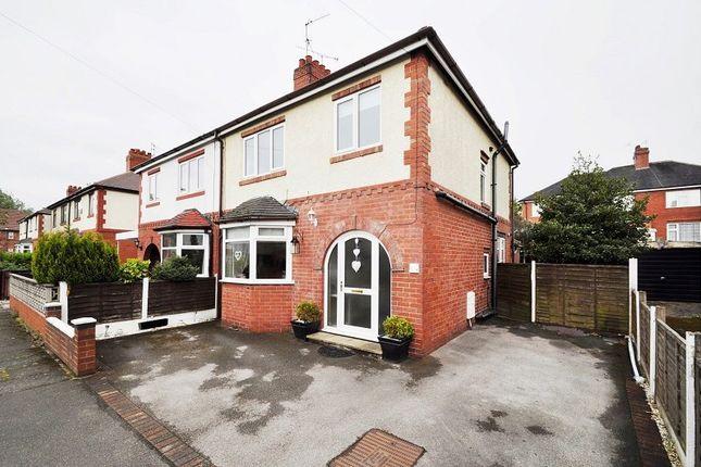 Thumbnail Semi-detached house for sale in 42 Trafalgar Road, Hartshill, Stoke-On-Trent, Staffordshire