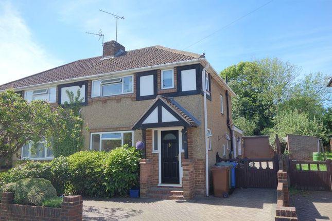 Thumbnail Semi-detached house to rent in Kingsway, Aldershot