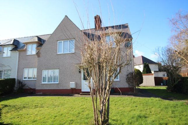 Thumbnail Semi-detached house for sale in Marl Crescent, Llandudno Junction