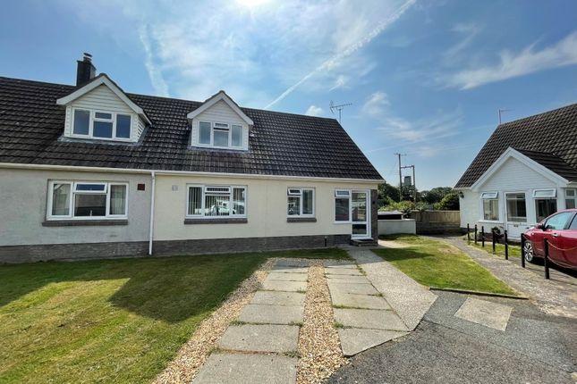 Thumbnail Semi-detached bungalow for sale in Trewern, Saron, Llandysul