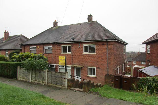 Thumbnail Semi-detached house to rent in Hethersett Walk, Bentilee, Stoke- On- Trent, Staffordshire