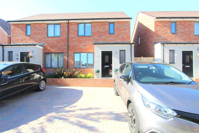 Thumbnail Semi-detached house to rent in Forrest Shaw, Castle Hill, Ebbsfleet Valley, Swanscombe